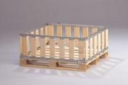 Caisse palette en bois 1200 x 1000 mm - Mpbox 40, 39120