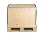 Caisse palette en bois pliante - Epaisseur : de 4 à 10 mm