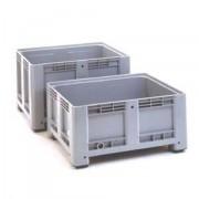 Caisse palette en polyéthylène - Charge admissible dynamique : 470 kg