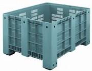 Caisse palette industrielle 600 litres - 1200 x 1000 x 760 mm