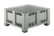 Caisse-palette industrielle en plastique - Capacité (L) : 430 - 610