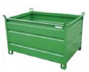 Caisse palette métallique MG - Volumes : 200, 400, 480, 720 litres et sur-mesure