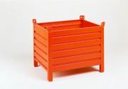 Caisse palette métallique légère - Caisse métallique - Dimensions : 800 x 600 ou 800 x 1200 mm