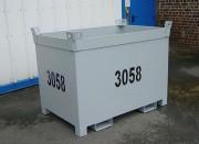 Caisse palette métallique renforcée - Charge maxi : 2000 kg