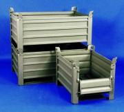 Caisse palette métallique tôlée - Structure métallique tôlée - Charge : 1000 kg