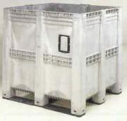 Caisse palette plastique 1400 litres - 1400 litres