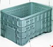 Caisse palette plastique 300 litres - Caisse ajourée