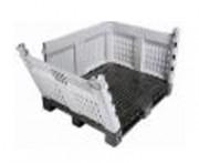 Caisse palette plastique démontable - Capacité : 1000 à 1200 L