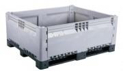 Caisse palette plastique démontable 617 litres - Capacité : 617