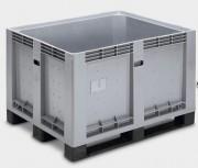 Caisse palette plastique monobloc 600 Litres - Jusqu'à 500 kg