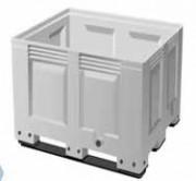 Caisse palette plastique sur patins 670 Litres - 1200x1000