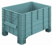 Caisse palette pleine 300 litres - Plastique