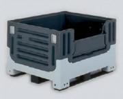 Caisse palette pliable 560 litres - 27802 - 27808