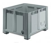 Caisse-palette pliable avec porte latérale - Capacité : 660 - 760 L