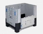 Caisse palette pliable en plastique - Volume utile : 250 litres - Résistance de charge : environ 250 Kg - Plusieurs modèles disponibles