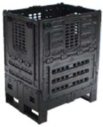Caisse palette pliante 800 x 600 mm - BD702692
