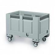 Caisse palette sur roues - Dimensions Ext : 1200 x 800 x 915 mm - Capacité : 480 L