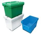 Caisse plastique emboîtable - Capacité  : 25 l