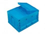 Caisse plastique pliante - Dimensions extérieures (mm) : 800 x 600 x 440