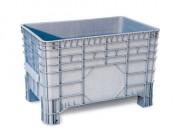 Caisse plastique polyéthylène 285 L - - Dimensions extérieures : 1040x640x670 mm - Dimensions intérieures : 930x590x515 mm