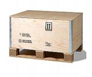 Caisse pliable homologuée - Pour produits dangereux  -  Conforme à la norme NIMP15