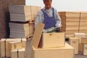Caisse pour exportation 1200 x 800 mm - Box multiplex, type L, 39288