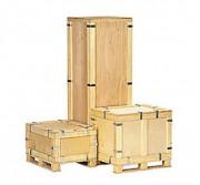 Caisse réutilisable en contreplaqué - Contreplaqué de 4 - 5 - 6 ou 10 mm d'épaisseur