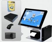 Caisse tactile prise de commande - Pack avec : Logiciel - Terminal PV - Imprimante ticket de caisse - Tiroir caisse