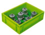 Caisse thermoformée pièces creuses - En plastique thermoformé - Dimensions : 400 x 300 mm