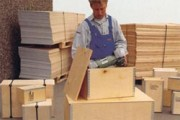 Caisses bois pour l'exportation - Box multiplex, type L, 39843