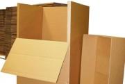 Caisses d'emballage carton - Carton compact ondulé
