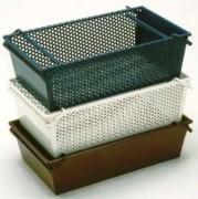 Caisses en acier emboîtables et gerbables - Carrées de 5 ou 10 mm