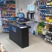 Caisses et comptoirs pour magasin - Les caisses de sorties (ou check-out) sont des éléments essentiels pour vos surfaces commerciales.