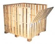 Caisses-palettes bois 1380 x 1080 mm - Une vaste gamme disponible en dimensions intérieures et en charges