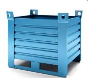 Caisses palettes metalliques industrielles - Caisses palettes polyvalentes