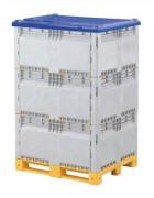 Caisses palettes modulables 1200 x 1000 x 1845 - Dimensions (L x l) mm : 1200 x 1000 - Hauteur (mm) : 1845