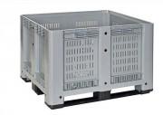 Caisses palettes plastique industrielles - Charge dynamique : 510 kg - Volume : 610 litres