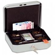 Caissette à monnaie en tôle d'acier gris Cashbox S - Durable