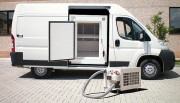 Caisson à plaques eutectique et groupe frigorifique séparés - Transport des produits à température dirigée