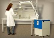 Caisson d'aspiration pour vapeurs et odeurs - Débits : 250 à 1000 m³/h