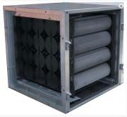 Caisson filtrant charbon actif - Superficie charbon 1250 m²/g
