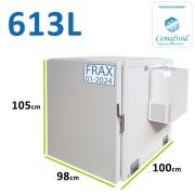 Caisson frigorifique pour véhicule type Berlingot ou Partner - Capacité : 613L - Amovible