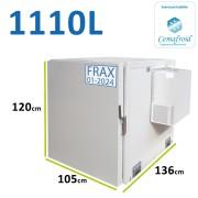 Caisson frigorifique pour véhicule type Jumpy ou Expert - 1110 L avec ATP