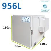 Caisson frigorifique pour véhicule type Jumpy ou Partner rallongé - Agrée par le cémafroid