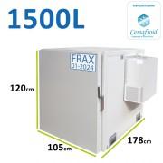 Caisson frigorifique pour véhicule type Master ou Traffic - 1500L amovible avec agrément ATP