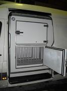 Caisson frigorifique produits surgelés - Température : -33°C