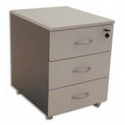 Caisson mobile 3 tiroirs gris clair/anthracite 410 X 560 X 500 - Simmob