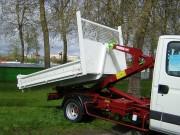 Caisson pour camion - Dimensions utiles intérieures (mm) : 3200 x 1900