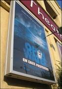 Caisson publicitaire cinéma - Formats d'affichage : 600 x 400 - 800 x 600 - 1200 x 800 - 1600 x 1200 mm