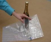 Calage de protection Recyclable - Supporte les pressions  jusqu'à 120 Kgs au cm2